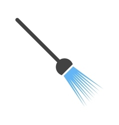Broom poster vector