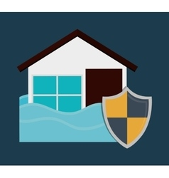 Protection and insurance vector