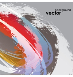 Abstract Paint Background vector image