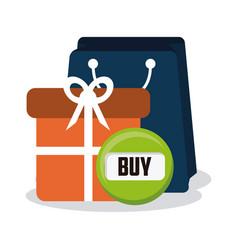 e-commerce concept design vector image