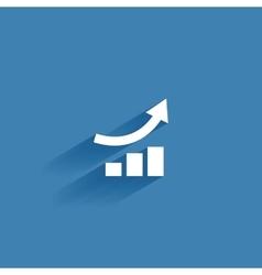 social media symbol vector image vector image