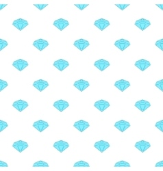 Polished diamond pattern cartoon style vector