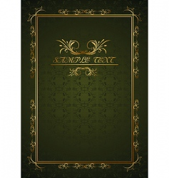 Fairytale book vector