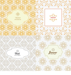 Line graphic design template vector