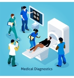 On reception at doctor isometric composition vector