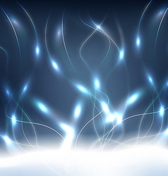 Blue Energy Background vector image vector image