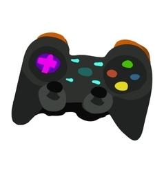 cartoon flat Gamepad icon vector image