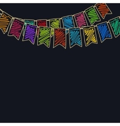 Festive Colorful Background vector image