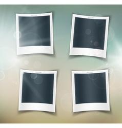 Four photos vector image vector image
