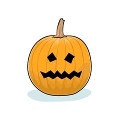 Halloween Terrible Pumpkin vector image vector image