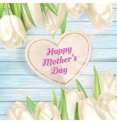 Mothers day gift background EPS 10 vector image