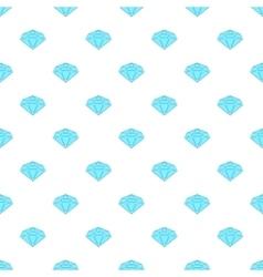 Polished diamond pattern cartoon style vector