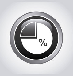 pie statistics desig vector image