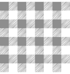 Seamless texture of gray plaid vector