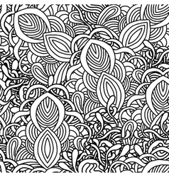 Abstract seamless with hand drawn ornament vector image vector image