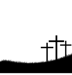 Christianity design over white background vector image