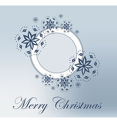 Christmas frame background vector