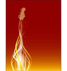 Dancing in Fire vector image vector image