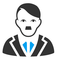 Noble gentleman flat icon vector