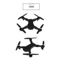 Quadcopter and drone vector