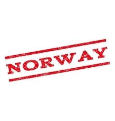 Norway watermark stamp vector