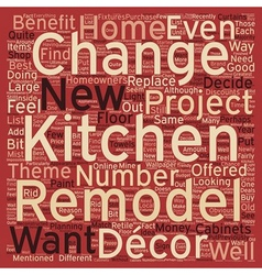 Remodeling your kitchen why you should also change vector