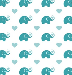Elephant wallpaper vector