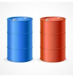 Oil barrel drum vector