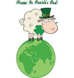 Cartoon sheep vector image vector image
