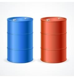 Oil Barrel Drum vector image