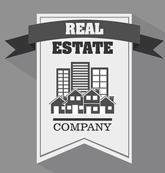 real estate company vector image vector image