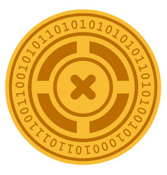 Roulette digital coin vector