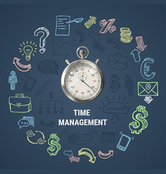 Time management round composition vector