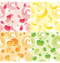 Fruit texture vector