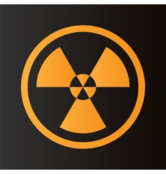 Icon radiation vector