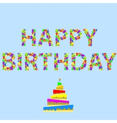 Happy-birthday word vector