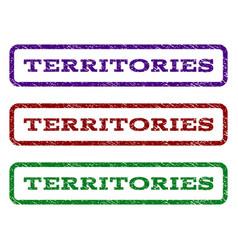 Territories watermark stamp vector