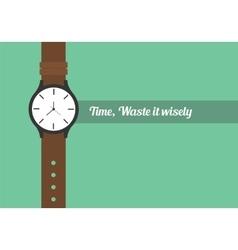 Time quotes vector