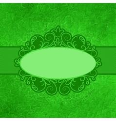Vintage Filigree Card vector image vector image