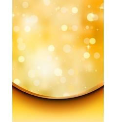 Glitter holiday card template EPS 8 vector image vector image
