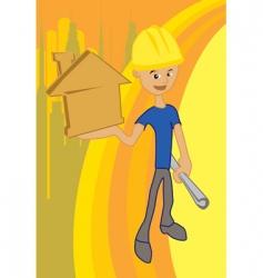 house idea vector image vector image