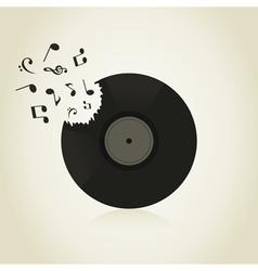 Vinyl2 vector image vector image