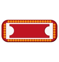 Circus sign icon vector