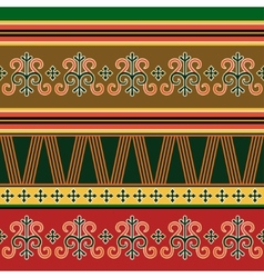 Traditional northern ornament vector