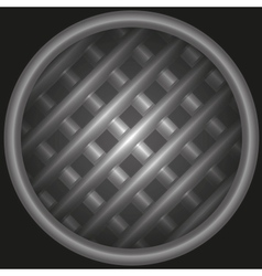 background with structure from a lattice in tube vector image