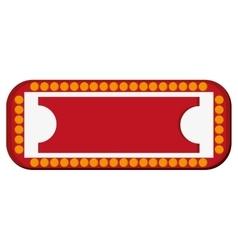 Circus sign icon vector