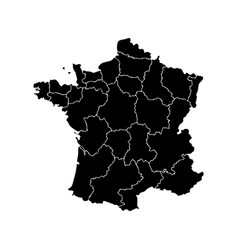 map of france vector image