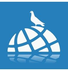 Symbol world crisis vector