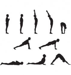 Yoga basics vector