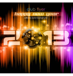 2013 new year celebration background vector